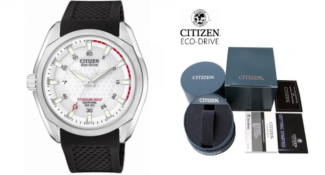 Citizen Eco-Drive Golf herrklocka